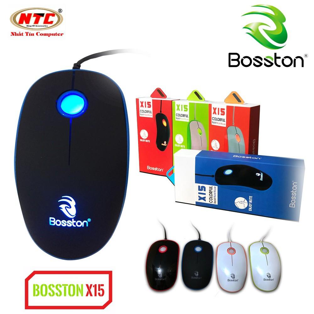 Chuột chuyên game Bosston X15 có đèn led - phiên bản Silent - Hãng phân phối chính thức - 2495722 , 727931397 , 322_727931397 , 131000 , Chuot-chuyen-game-Bosston-X15-co-den-led-phien-ban-Silent-Hang-phan-phoi-chinh-thuc-322_727931397 , shopee.vn , Chuột chuyên game Bosston X15 có đèn led - phiên bản Silent - Hãng phân phối chính thức