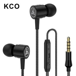 Tai nghe nhét tai D1 có mic thiên trầm KCO