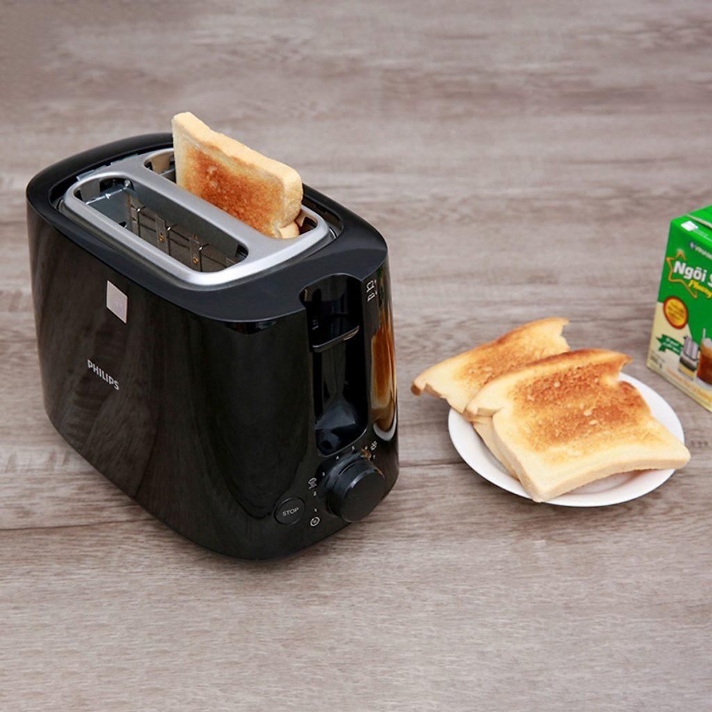 Máy nướng bánh mỳ Philips HD2582 bảo hành 24 tháng