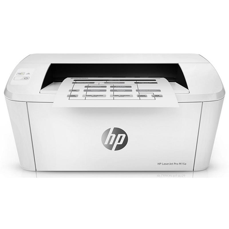 [Mã ELHPDEC giảm 15%]Máy In Laser Trắng Đen Đơn Năng HP LaserJet Pro M15a -W2G50A  - Chính Hãng
