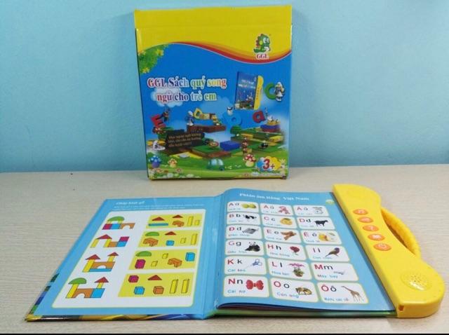COMBO 10 Quyển Sách Nói Điện Tử Song Ngữ Anh Việt