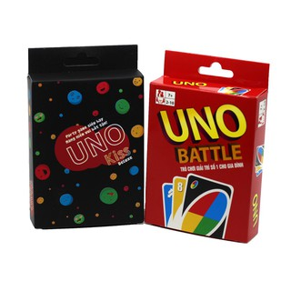[150K Freeship] Combo Uno Kinh Điển (Uno Battle + Uno Kiss Việt Hóa) – BGVN