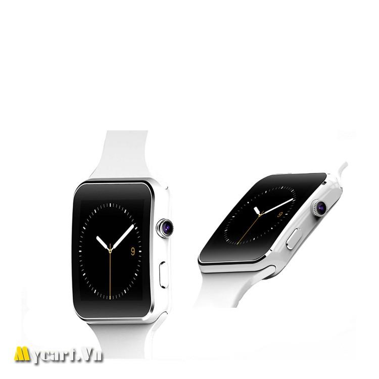 Đồng hồ thông minh X6 màn hình cong Cao cấp (trắng) - 3335328 , 521541536 , 322_521541536 , 255000 , Dong-ho-thong-minh-X6-man-hinh-cong-Cao-cap-trang-322_521541536 , shopee.vn , Đồng hồ thông minh X6 màn hình cong Cao cấp (trắng)