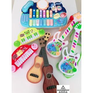 Đồ chơi đàn nhạc phát triển tư duy cho bé (có tặng kèm pin)