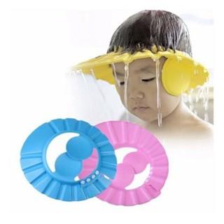 Mũ tắm chắn nước có vành che tai cho bé thumbnail