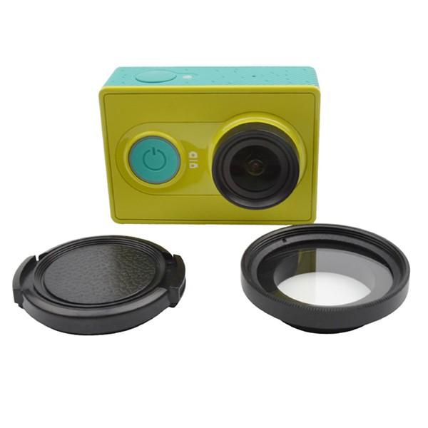 Bộ Adapter và kính lọc UV cho Xiaomi Yi camera