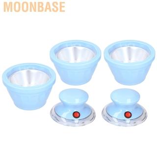 Moonbase Ice Cream Maker Homemade Full‑Automatic Electric Fruit Making Machine Blue CN 220V