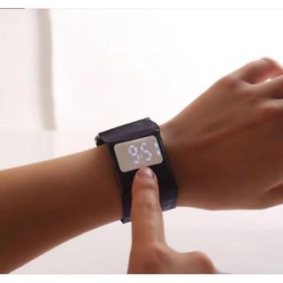 Đồng hồ giấy độc lạFREESHIPĐồng hồ nam nữ Led điện tử bằng giấy chống nước, thông minh, thời trang 8226