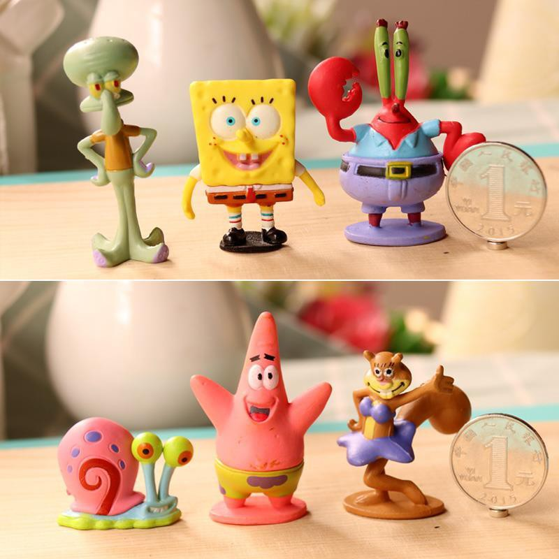 Mô Hình Nhân Vật Hoạt Hình Spongebob 21.3.27