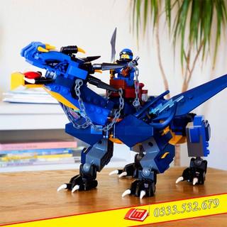Lego Lắp Ghép Ninjago ZM 4014 / 518PCS (Chi Tiết)