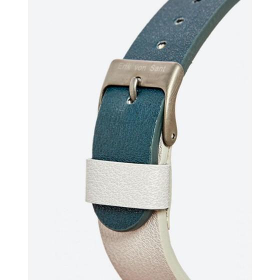 Đồng hồ unisex nam nữ Erik von Sant 004.001.D phối dây 2 màu