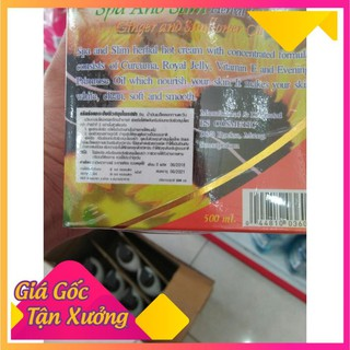 (FREESHIP) Kem tan mỡ bụng gừng ớt Flourish Thái Lan (SẢN PHẨM CHÍNH HÃNG)