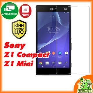 [Ảnh Thật] Kính CL SONY Z1 Compact 9H-0.26mm có mài cạnh 2.5D Cường Lực