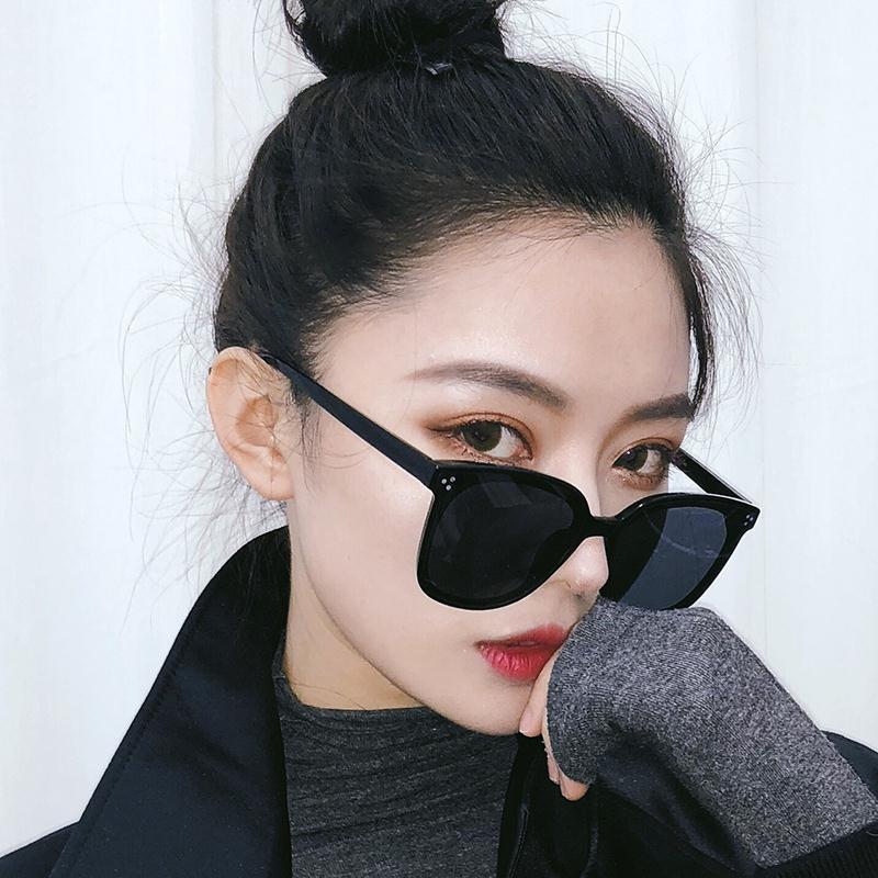Kính Mát Phân Cực Chống Tia Cực Tím Phong Cách Hàn Quốc Cho Nữ