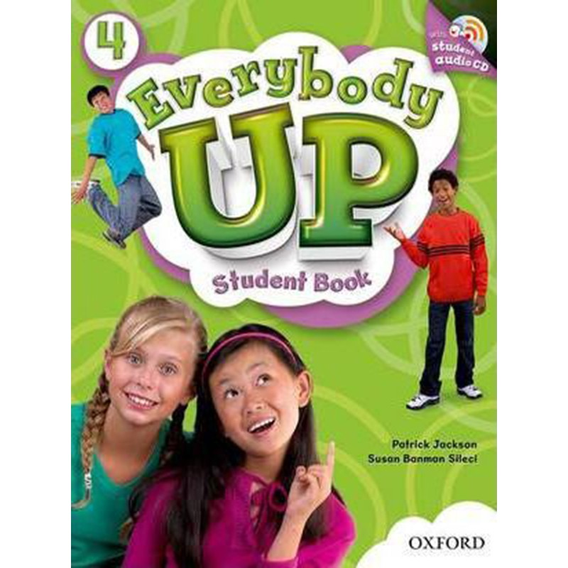 Sách học tiếng Anh Everybody Up 4 Student Book kèm CD luyện nghe