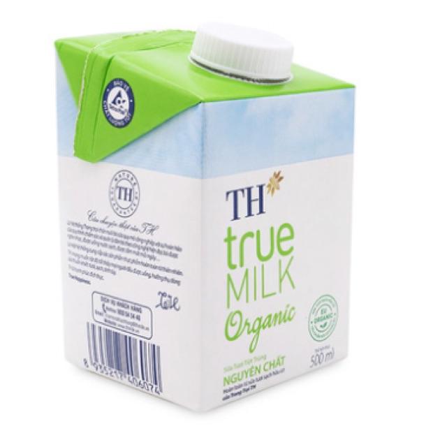 Sữa tươi tiệt trùng nguyên chất ORGANIC TH True Milk 500ml( KHÔNG ĐƯỜNG) - 2526709 , 814029005 , 322_814029005 , 50000 , Sua-tuoi-tiet-trung-nguyen-chat-ORGANIC-TH-True-Milk-500ml-KHONG-DUONG-322_814029005 , shopee.vn , Sữa tươi tiệt trùng nguyên chất ORGANIC TH True Milk 500ml( KHÔNG ĐƯỜNG)