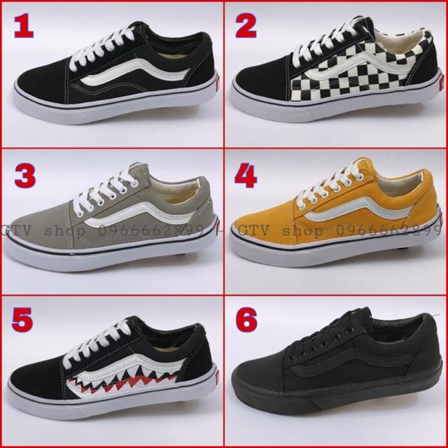 [TẶNG HỘP + TẶNG THÊM 1 BỘ DÂY GIÀY] Giày thể thao nam nữ (6 mẫu hot), size 36-43 .