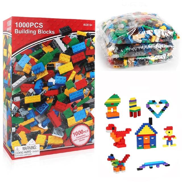 Combo 3 hộp xếp hình lego 1000 miếng