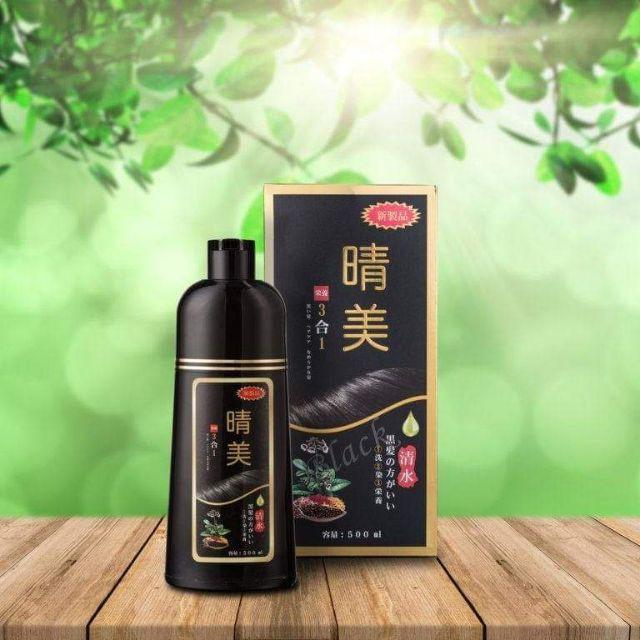 Dầu gội , nhuộm tóc 3 in 1 nhật bản KOMI 500ml   Shopee Việt Nam