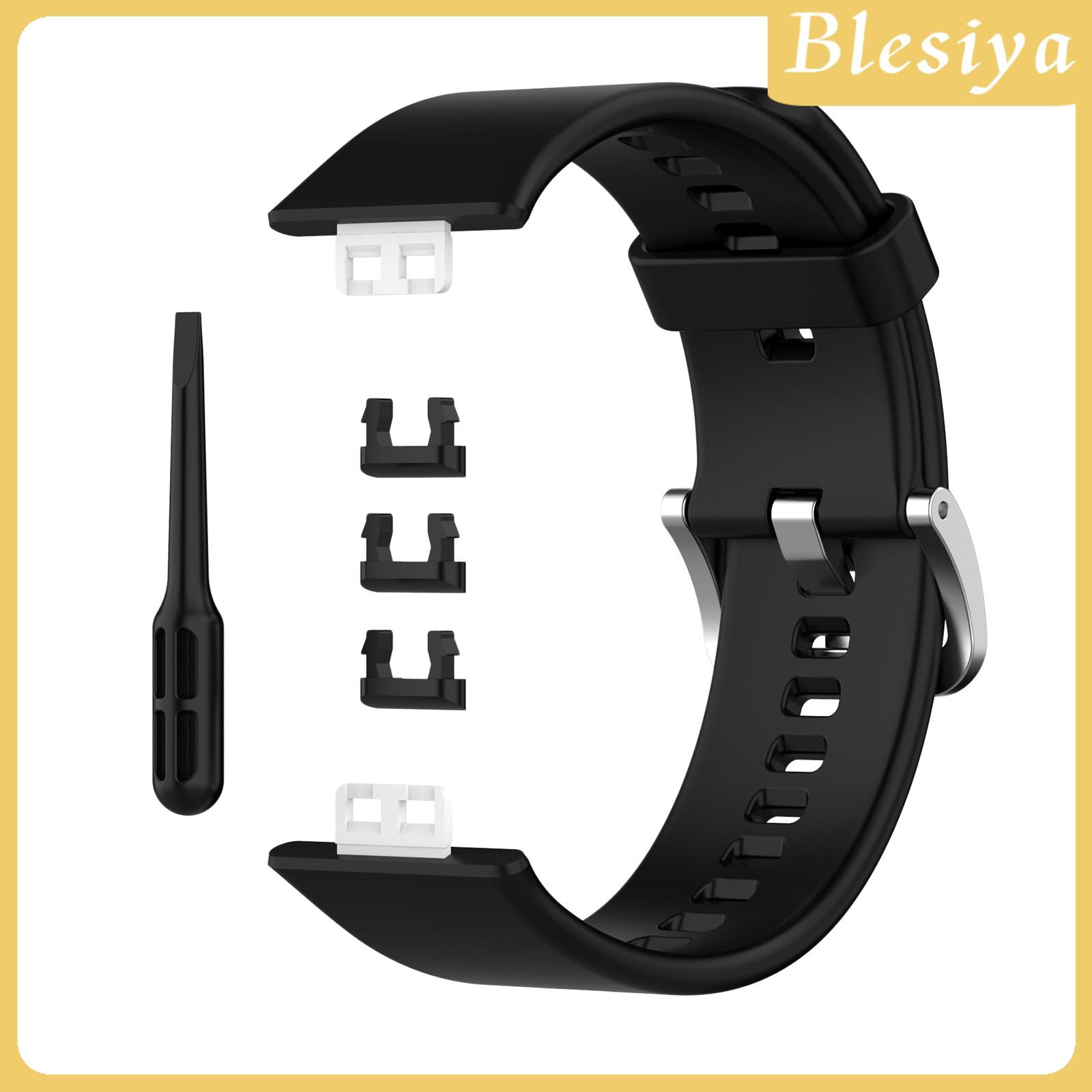 Dây Đeo Silicon Mềm Cho Đồng Hồ Huawei Watch Fit Ia-B09 Ia-B19