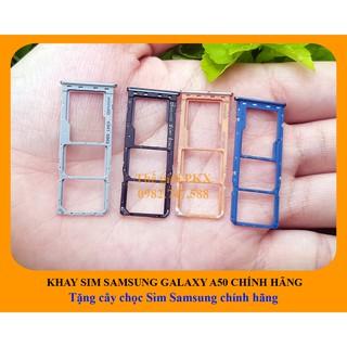 KHAY SIM SAMSUNG GALAXY A50 2019 CHÍNH HÃNG + Tặng chọc Sim chính hãng Samsung