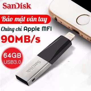 [32/64GB] USB OTG Sandisk iXpand Mini cho Iphone Ipad - USB OTG Iphone Sandisk