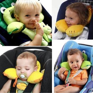 1PC Baby Pillow Kids Car Travel Head Neck Protector Pillow Cushion Child Sleep thumbnail
