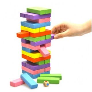 [SALE HOT] [Nhập mã APTOYFAIR giảm 20K khi thanh toán qua Airpay]Bộ đồ chơi rút gỗ 48 thanh màu sắc