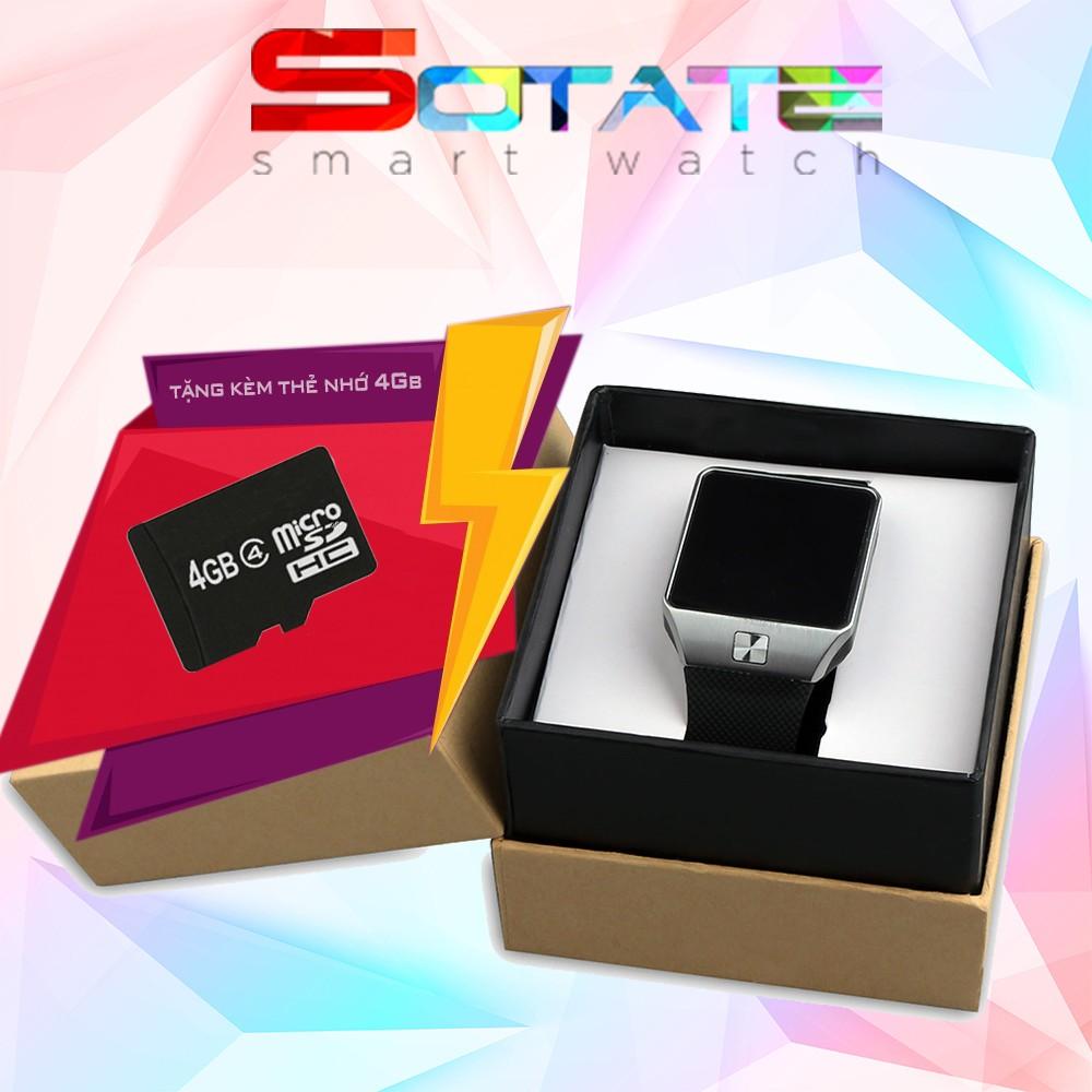 Đồng Hồ Thông Minh DMT09 Bạc + Thẻ nhớ 4 GB