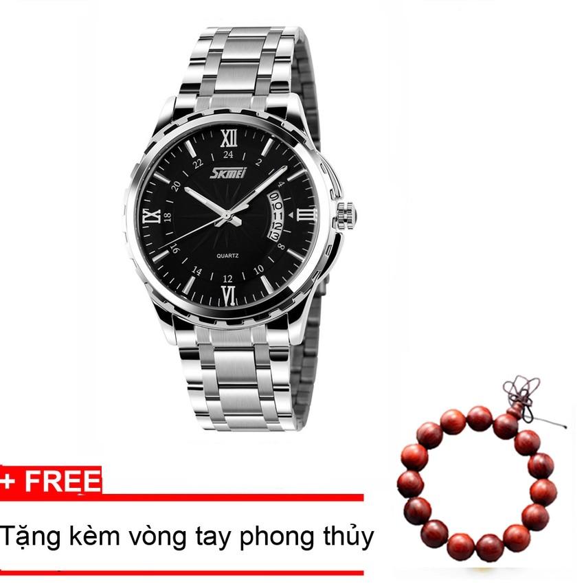 Đồng hồ nam thời trang cao cấp dây thép SKMEI 9069
