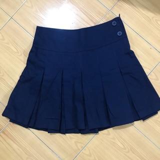 Váy đồng phục học sinh xếp ly