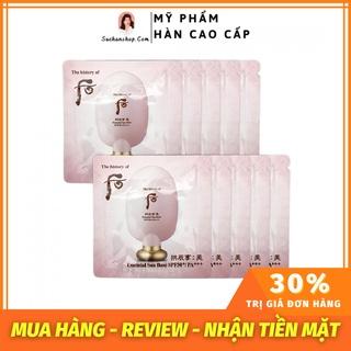 Gói Sample Kem Lót Trang Điểm, Chống Nắng Whoo Essential Sun Base SPF50+ PA+++ 1ml thumbnail