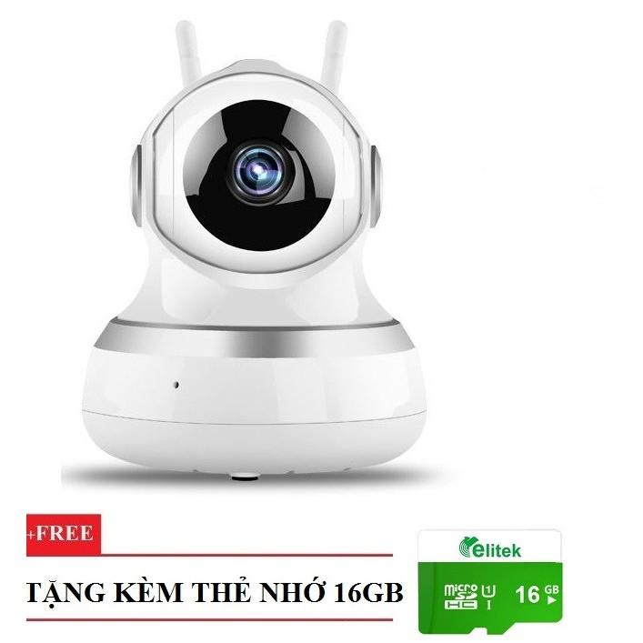Camera IP 720P 1.0MP Hỗ Trợ Hồng Ngoại Superman Dùng App CareHome Tặng Thẻ 16GB