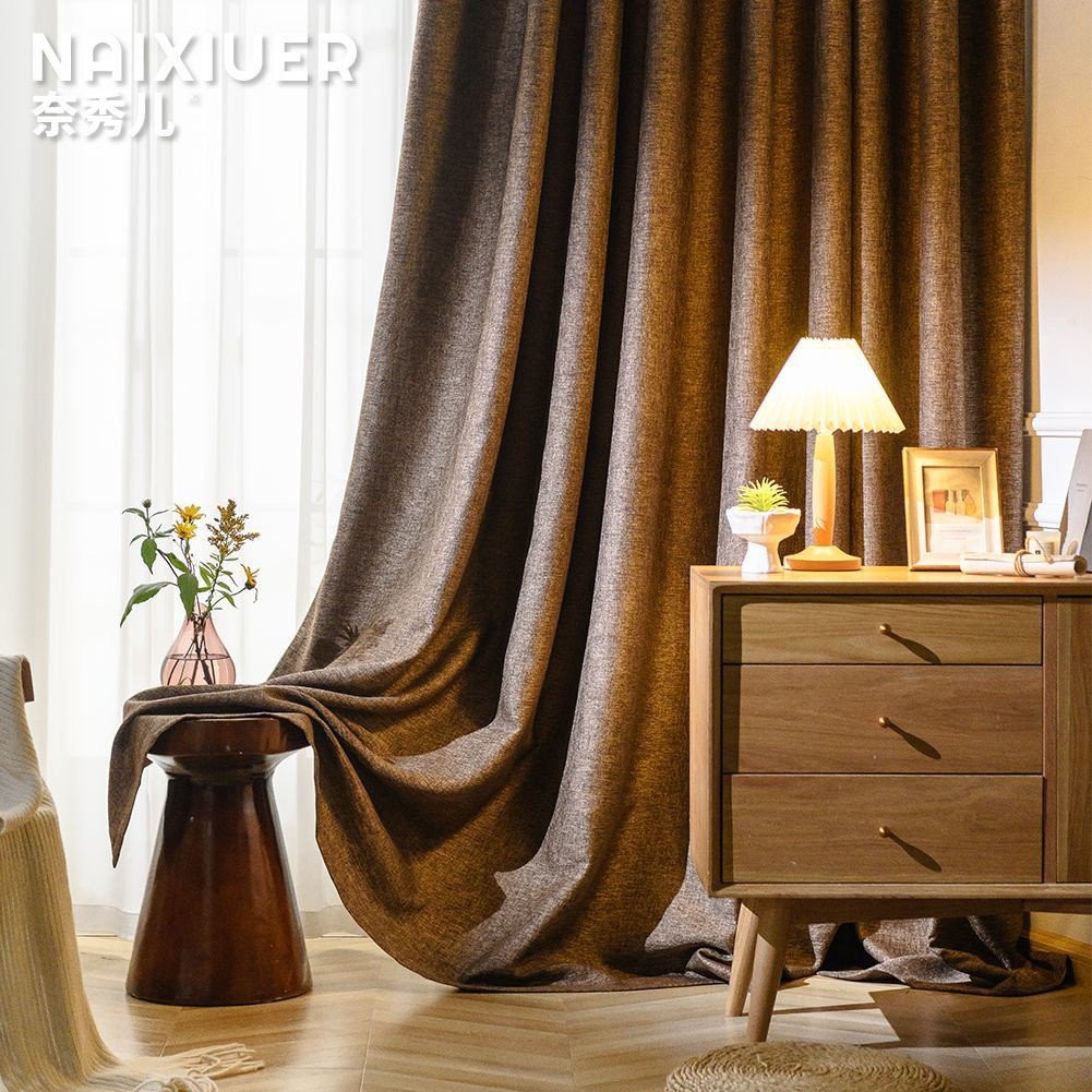 Rèm Cửa Che Nắng Cách Nhiệt Có Móc Treo Tiện Dụng Cho Phòng Khách / Phòng Ngủ / Ban Công