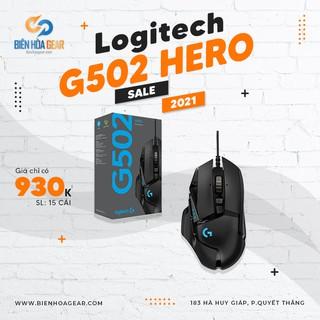 Chuột Game Có Dây Logitech G502 Hero – Chính Hãng