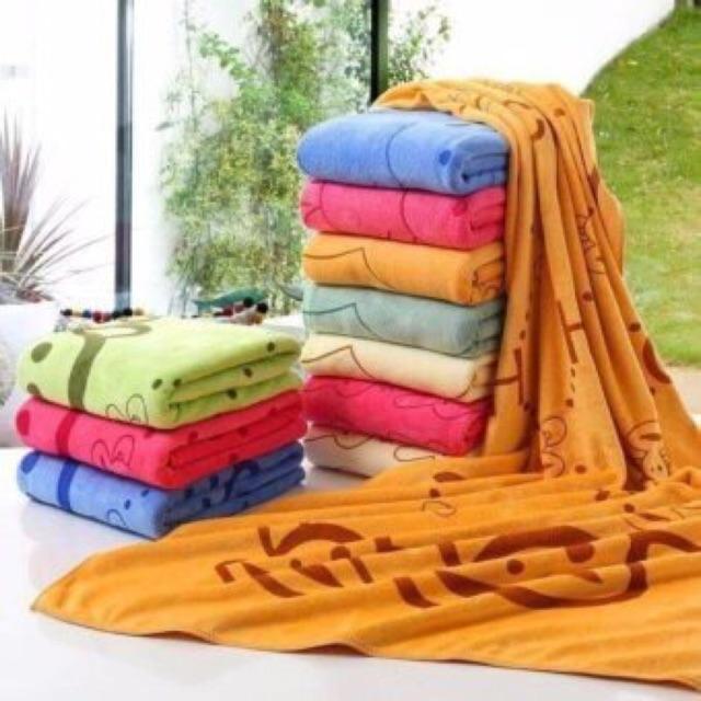 Khăn tắm cotton siêu mềm đủ kích thước