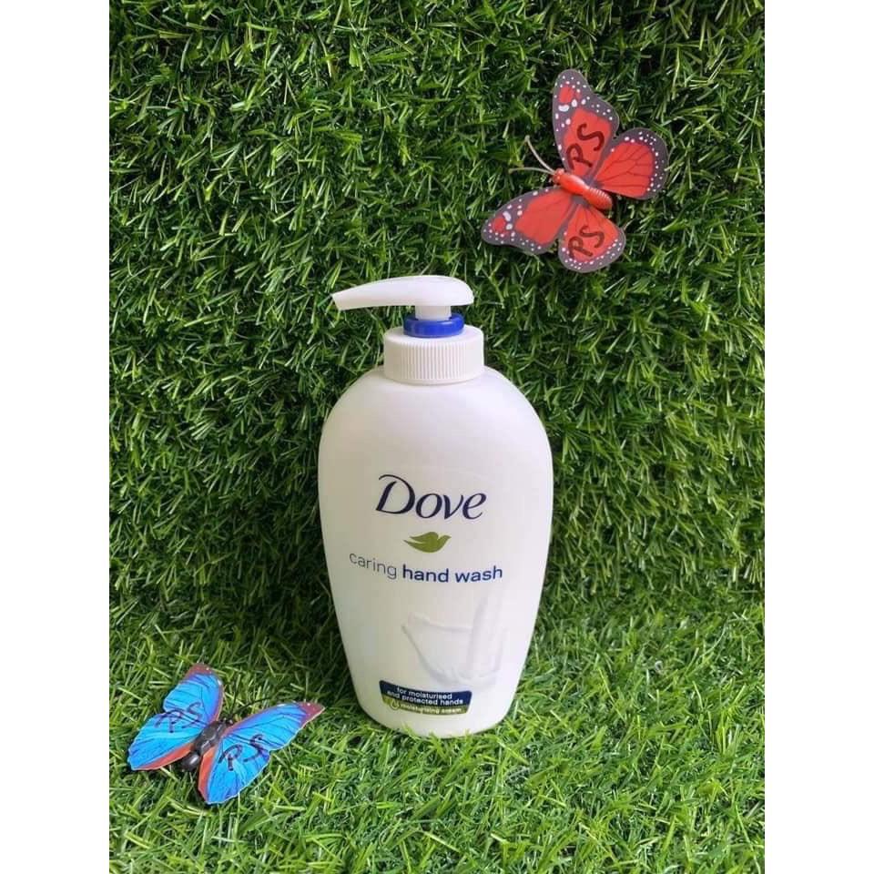 Sữa rửa tay Dove 250ml sạch khuẩn, mềm mịn da tay - hàng khuyến mãi