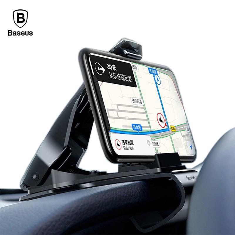 Giá đỡ điện thoại trên xe hơi cho iPhone X Samsung S9 S8 S8 360 độ Chính hãng Baseus -dc3583