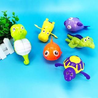 Bộ 5 đồ chơi động vật bơi dưới nước chạy bằng cót (Hình ngẫu nhiên)[Tmarkvn]