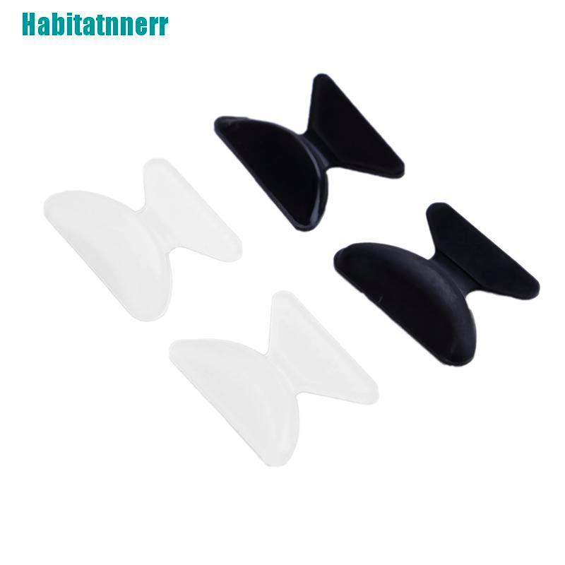 【Habitatnnerr】5Pairs Glasses Eyeglass Sunglass Spectacles Anti-Slip Silicone Stick On Nose Pad