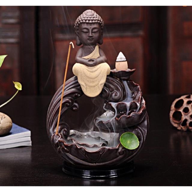 Thác khói trần hương Phật Thích Ca Vi Tiếu