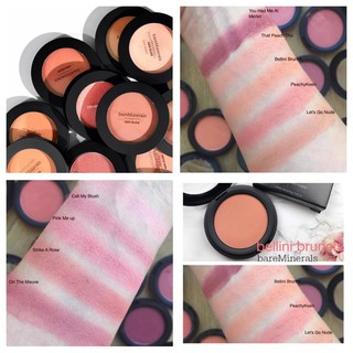 BareMinerals - Phấn má hồng khoáng Gen Nude Powder Blush 6g