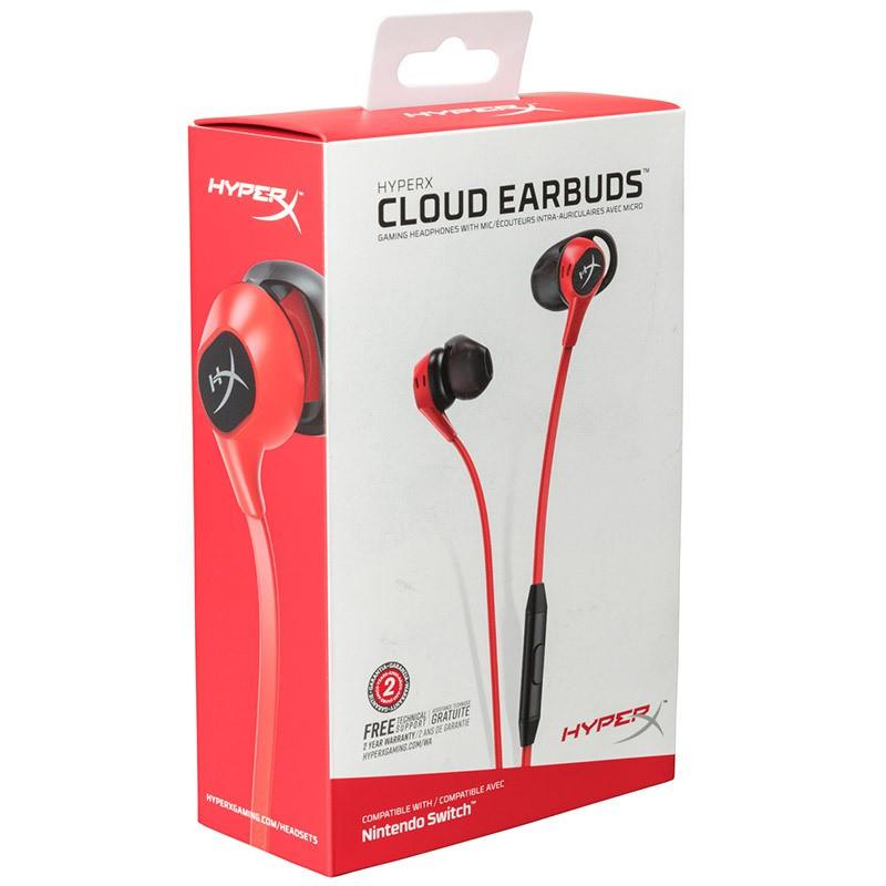 Tai nghe HyperX Cloud Earbuds - Tai nghe chuyên game chính hãng Kingston