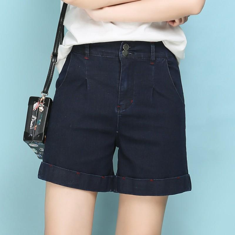 quần short denim lưng cao plus size - 14015859 , 2577936609 , 322_2577936609 , 382300 , quan-short-denim-lung-cao-plus-size-322_2577936609 , shopee.vn , quần short denim lưng cao plus size