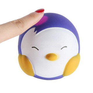 🐼 Slow Rising Squeeze Toy,Color Change Penguin Stress Reliever Toy