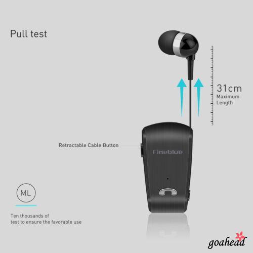 Tai nghe nhét tai thể thao v2h-universal kết nối Bluetooth không dây