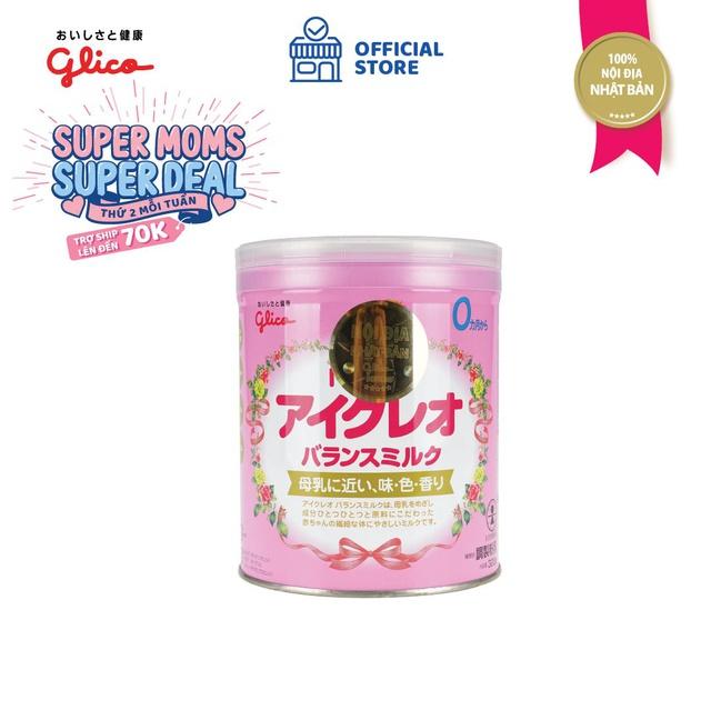 Thực Phẩm Bổ Sung: Sản Phẩm Dinh Dưỡng Glico Icreo Balance Milk (Icreo Số 0) 320g/Hộp