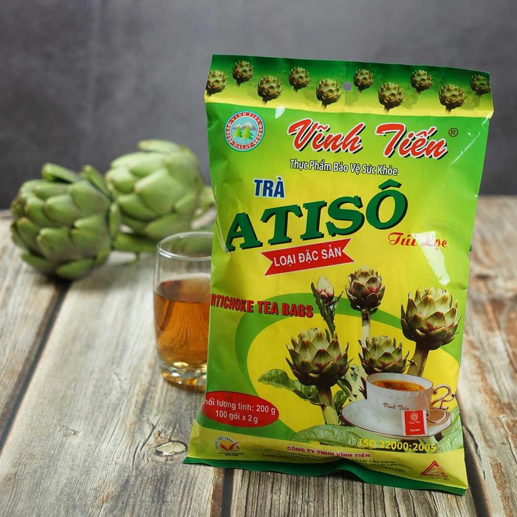 Trà Atiso Vĩnh Tiến 200g (Loại đặc sản)   Shopee Việt Nam