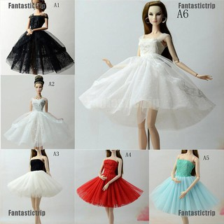 """Fantastictrip Handmade Doll Dress Clothes For 11"""" 1/6 Dolls Party Sequin Tulle Gown Dress"""