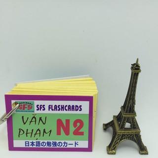 [ FREE SHIP ] [Sỉ_25k] Bộ thẻ tiếng nhật văn phạm N2_khobuon thumbnail